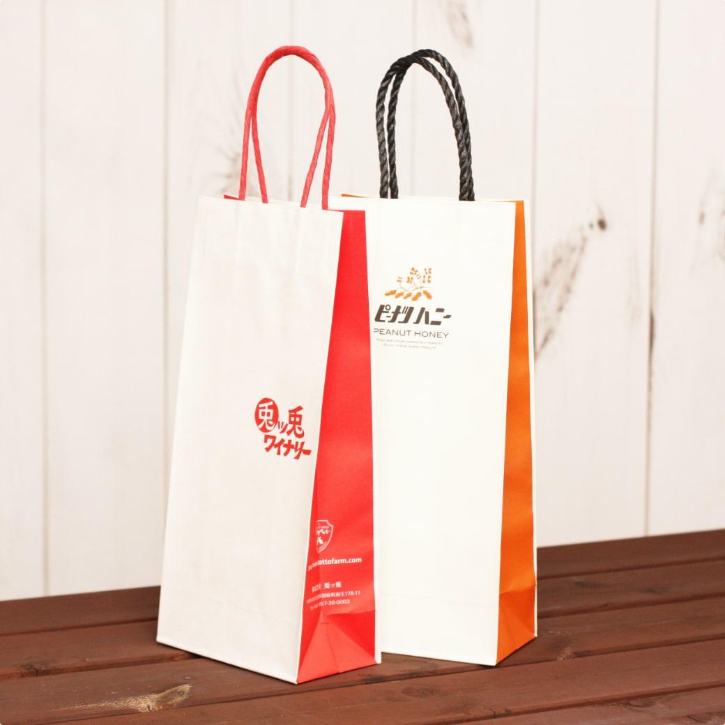 紙袋,ボトルサイズ