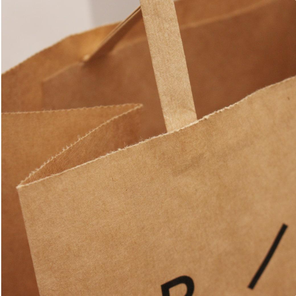 紙袋,格安ギザギザ(輪転)