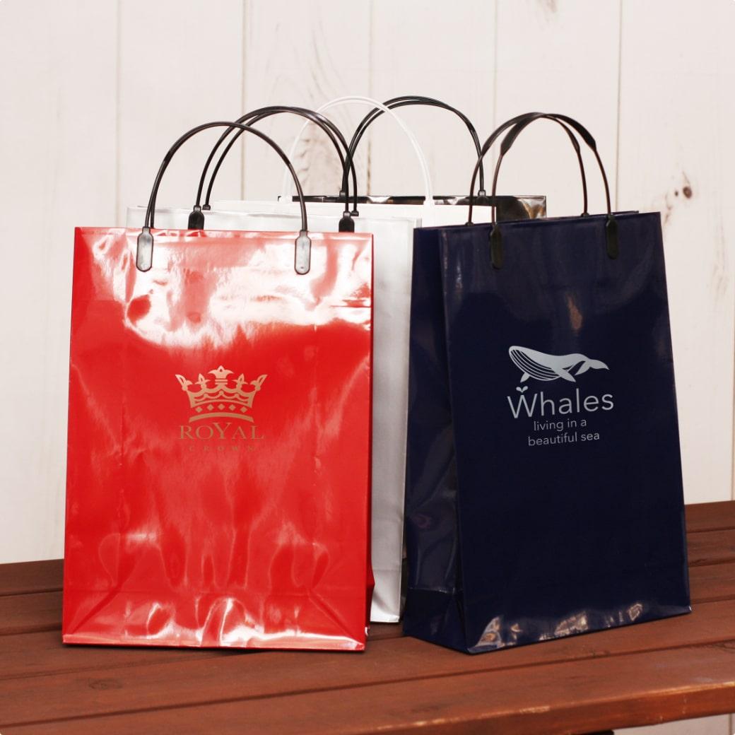 紙袋,グロスラミネートバッグ