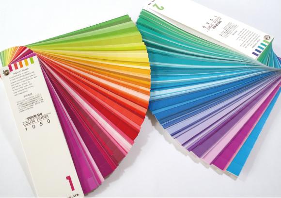 印刷色の指定の仕方を解説します