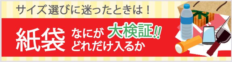 紙袋ヒーロー・井上さんの紙袋のギモン解決